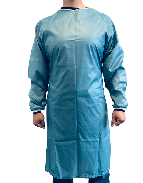Reusable Medical Gown Green Unisex Made in Canada