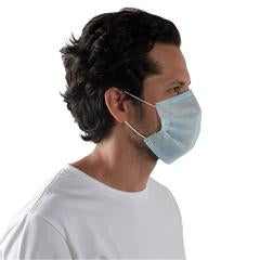 3-Ply Disposable Civilian Non-Medical Masks  (Box of 50)