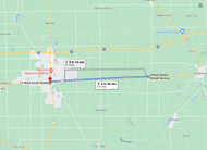 Stage 140: US Postal Service to Greenfield Fire Department, Sep 23, 12:41 PM - 8.4 miles - 10 min/mile
