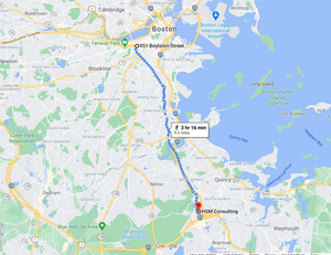 Stage 1: Boston Engine 33 - Ladder 15 to National Fire Protection Association, Sep 11, 08:46 AM - 9.4 miles - 10 min/mile