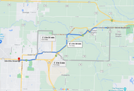Stage 218: 66 Drive In Theater to Webb City Fire Department 14-1, Sep 29, 07:37 PM - 7.8 miles - 10 min/mile