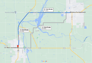 Stage 221: Galena Fire Department (KS) to Baxter Springs Fire Department (KS), Sep 30, 07:05 AM - 8.2 miles - 10 min/mile