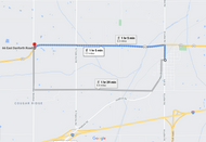 Stage 251: Luther Fire Department to The Boundary on 66, Oct 02, 11:50 AM - 3.3 miles - 11 min/mile