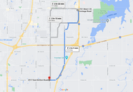 Stage 254: Edmond Fire Station No. 4 to Oklahoma City Fire Station 2, Oct 02, 02:44 PM - 6.5 miles - 10 min/mile