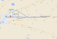 Stage 290: Route 66 + Road 2161 to Amarillo Fire Training Center, Oct 05, 05:06 PM - 10.5 miles - 11 min/mile