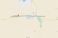 Stage 311: Fort Sumner Fire Department to Route 60 + County Road 1-25, Oct 07, 06:19 PM - 12.5 miles - 12 min/mile
