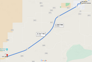 Stage 323: Mountainair Fire Department to Route 60 + County Road B005, Oct 09, 08:18 AM - 9.9 miles - 11 min/mile
