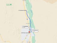 Stage 329: Midway Fire Department to Socorro Hose Company Number 1, Oct 09, 06:51 PM - 8.5 miles - Any pace