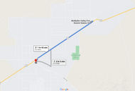 Stage 377: McMullen Valley Fire Station 2 to McMullen Valley Fire Station 1, Oct 15, 06:21 PM - 5.3 miles - 10 min/mile