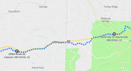 Stage 191: Randolph Rd + Rt 7 to E 66 + Missouri T, Oct 02, 04:35 PM - 11.5 miles