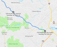 Stage 81: Clinton to Hanover Township, Sep 22, 03:01 PM - 8.5 miles