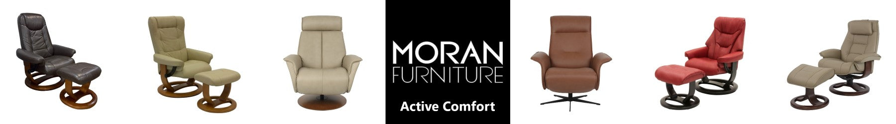 Moran Fjord Recliners and Active Comfort Chairs