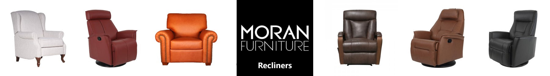 Moran Furniture Recliners and Push Back Chairs