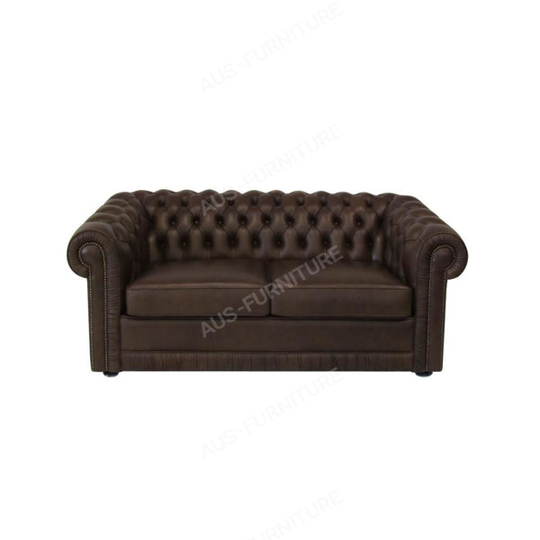 Moran Furniture Chester Chesterfield Sofa 2 Seat / Fixed Fabric From Sofas