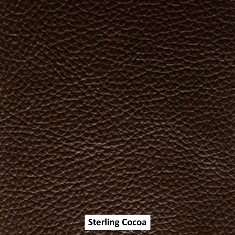 Moran Furniture Sterling H1 Leather Coverings Cocoa Chairs