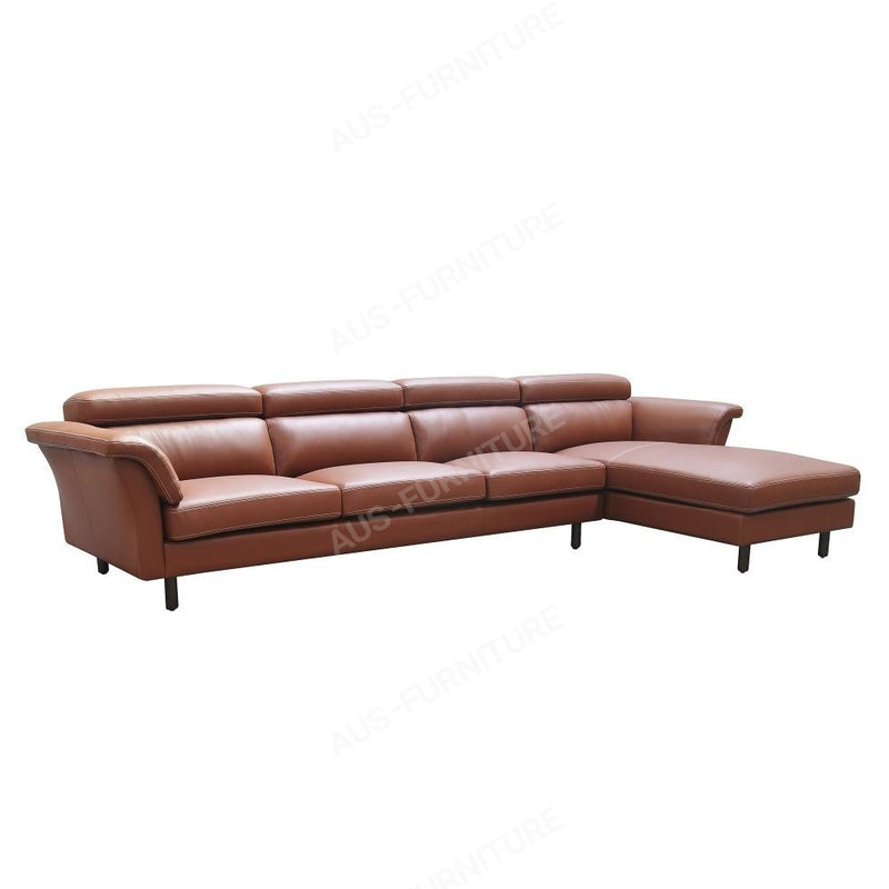 Moran Furniture Carson Modular 3+Chaise / Leather From Sofas