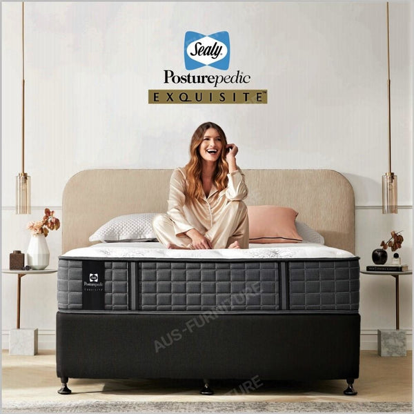 Sealy Firm Queen Exquisite PosturePedic Mattress - Aus-Furniture