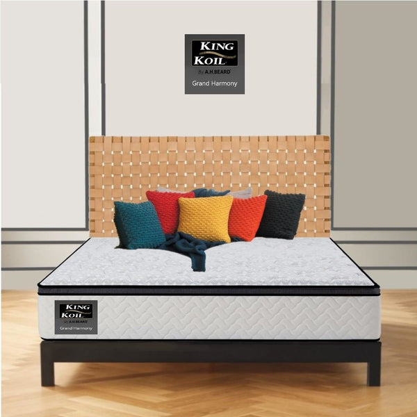 AH Beard Medium Queen Grand Harmony King Koil Mattress - Aus-Furniture