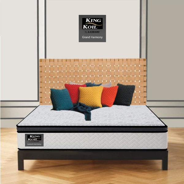 AH Beard Plush Queen Grand Harmony King Koil Mattress - Aus-Furniture