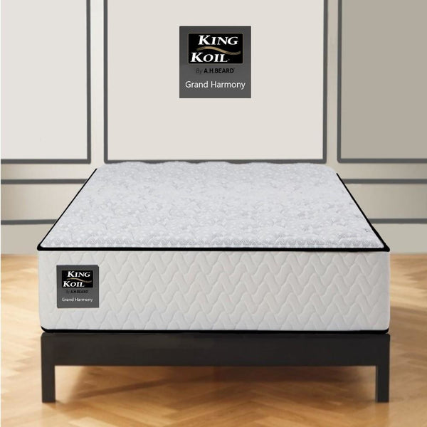 AH Beard Firm Long Single Grand Harmony King Koil Mattress - Aus-Furniture