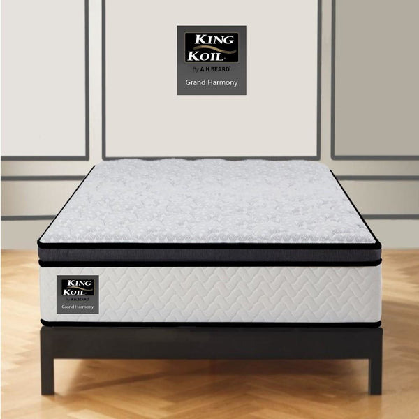 AH Beard Plush Long Single Grand Harmony King Koil Mattress - Aus-Furniture