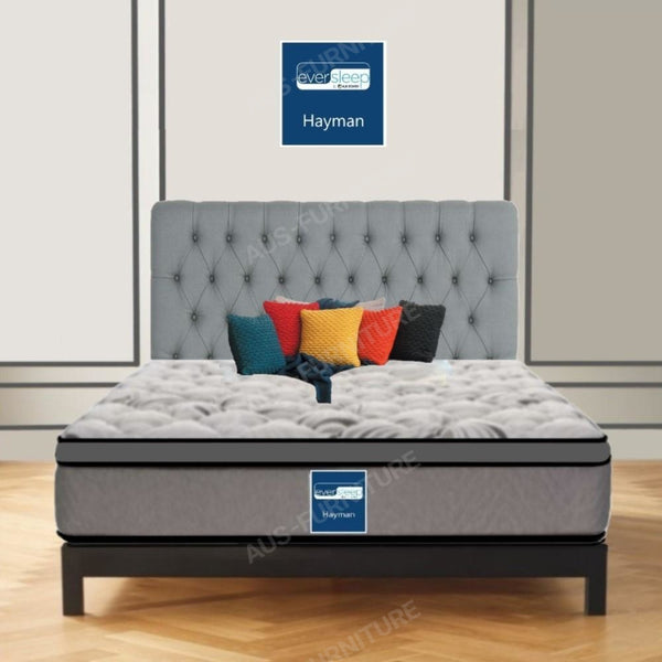 AH Beard Plush Double Hayman Eversleep Mattress - Aus-Furniture