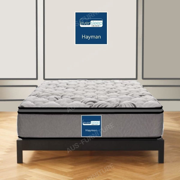 AH Beard Medium Long Single Hayman Eversleep Mattress - Aus-Furniture