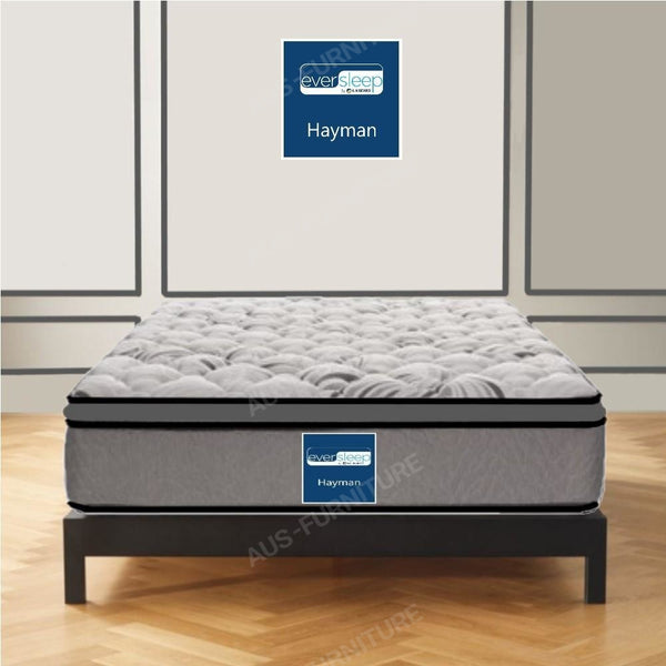 AH Beard Plush Long Single Hayman Eversleep Mattress - Aus-Furniture