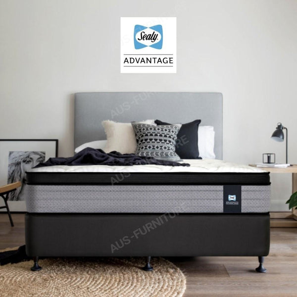 Sealy Plush Queen Advantage Mattress - Aus-Furniture