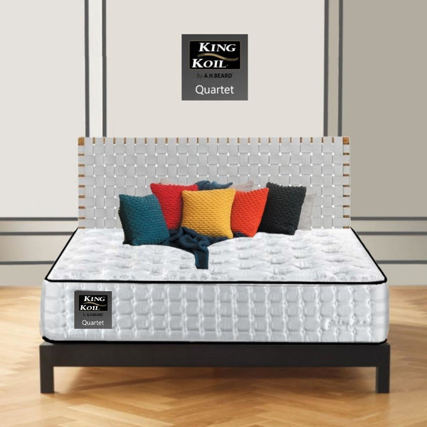 AH Beard Firm Queen Quartet King Koil Mattress - Aus-Furniture