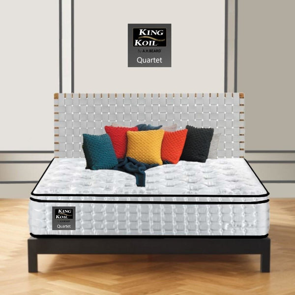 AH Beard Medium Queen Quartet King Koil Mattress - Aus-Furniture