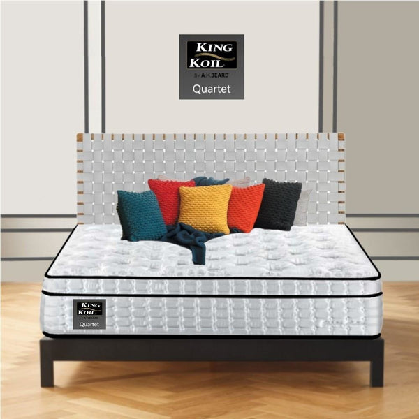 AH Beard Plush King Quartet King Koil Mattress - Aus-Furniture
