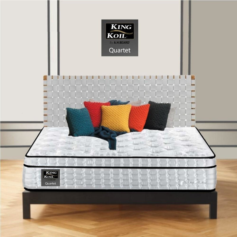 AH Beard Plush Queen Quartet King Koil Mattress - Aus-Furniture