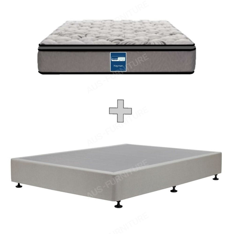AH Beard Medium Double Hayman Eversleep Mattress - Aus-Furniture