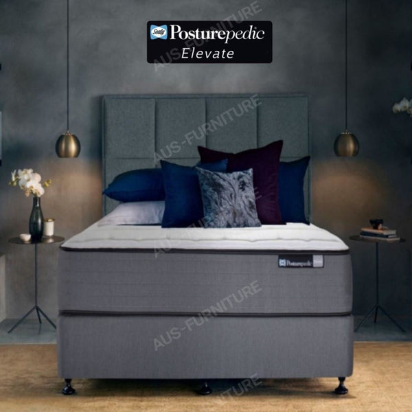 Sealy Firm Long Single Elevate Posturepedic Mattress - Aus-Furniture