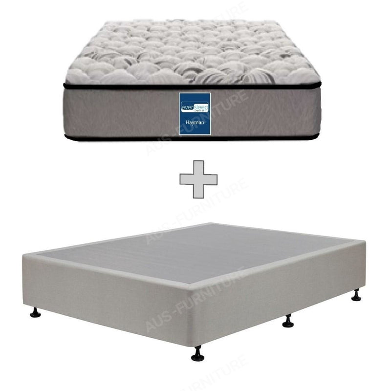 AH Beard Firm Long Single Hayman Eversleep Mattress - Aus-Furniture