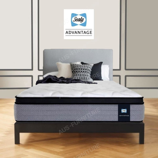 Sealy Plush Long Single Advantage Mattress - Aus-Furniture