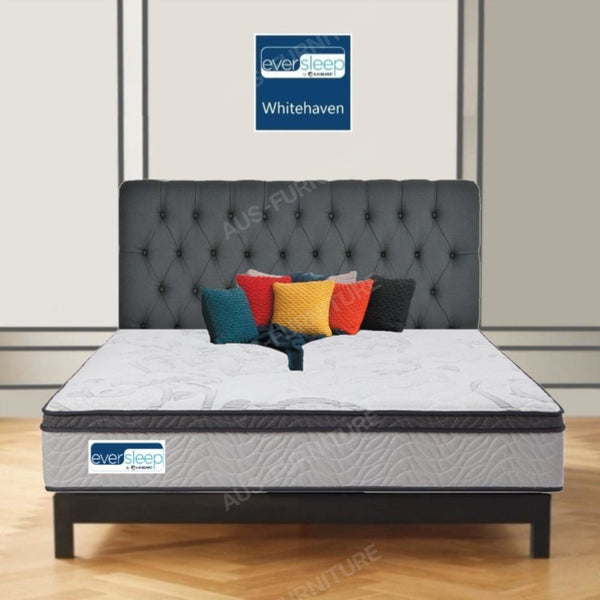 AH Beard Plush Queen Whitehaven Eversleep Mattress - Aus-Furniture