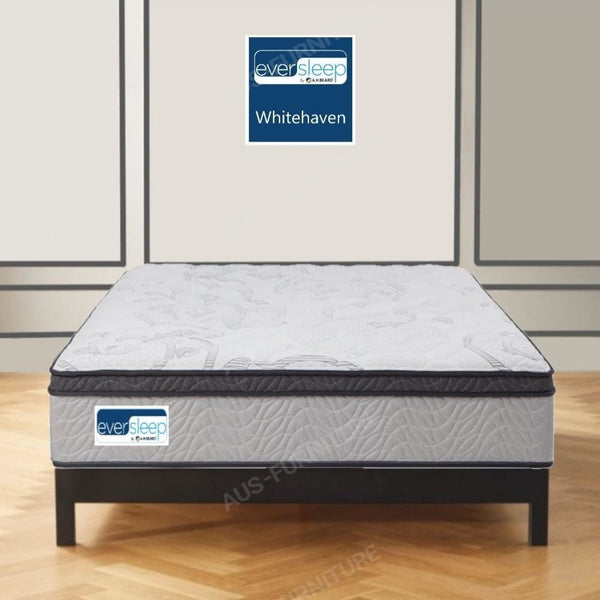 AH Beard Plush Long Single Whitehaven Eversleep Mattress - Aus-Furniture