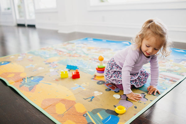 a girl playing on an everywhere map