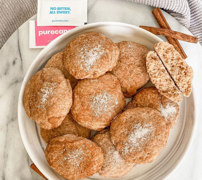 PURECANE™ GLUTEN-FREE APPLE SNICKERDOODLE COOKIES