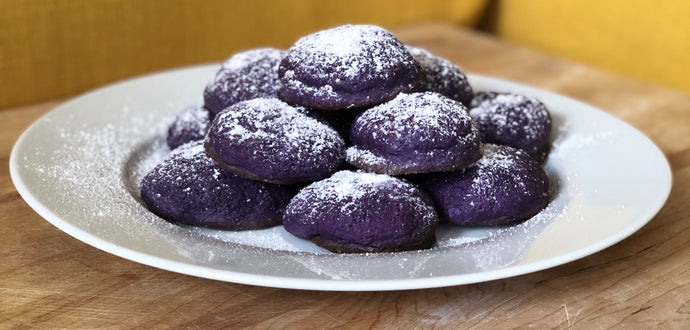 SUGAR-FREE UBE PURPLE YAM COOKIES