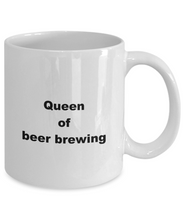 Load image into Gallery viewer, Beer Brewing funny white coffee mug women men 11oz or 15oz