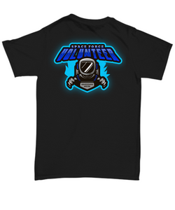 US Space Force T-shirt, gift for Space Force addict, gift for her, him, son, daughter Black All sizes.