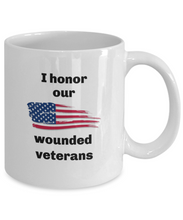 Load image into Gallery viewer, Wounded Veterans mug Printed both sides For him or her