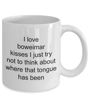 Load image into Gallery viewer, Boweimar funny white coffee mug women men 11oz or 15oz