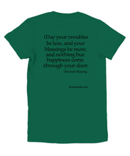 Load image into Gallery viewer, Old Irish Blessing Youth Tee.