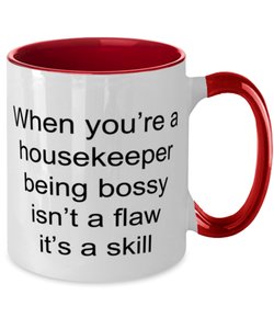Best Nurse Ever Two Tone Red and White Coffee Mug