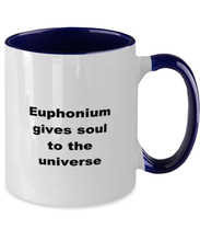 Load image into Gallery viewer, Euphonium funny two-tone coffee mug 11oz women men