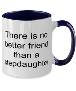 Stepdaughter funny two-tone coffee mug four colors 11oz for women and men